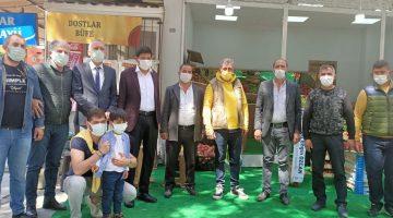 Burukanlar Manav Nazilli'de Açıldı!