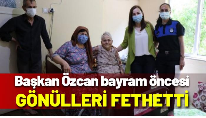 Başkan Özcan, bayram öncesi gönülleri fethetti